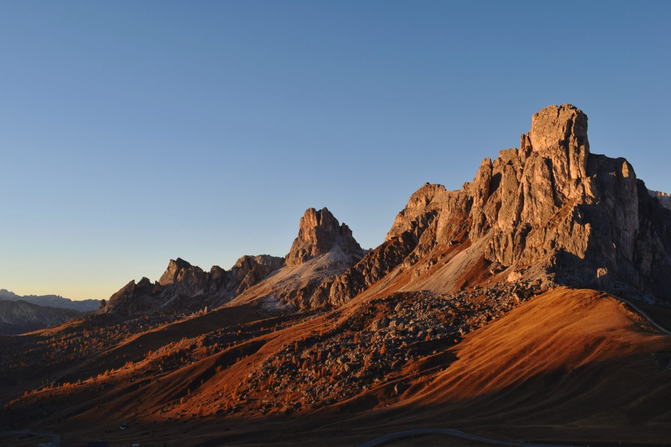 Passo Giau sulle Dolomiti