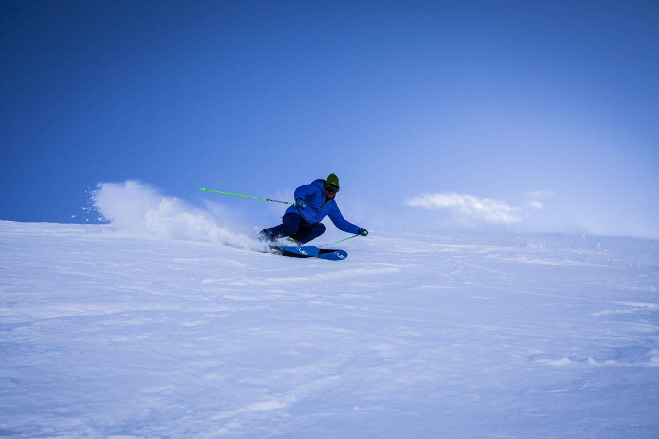 Piste da sci sulle Dolomiti