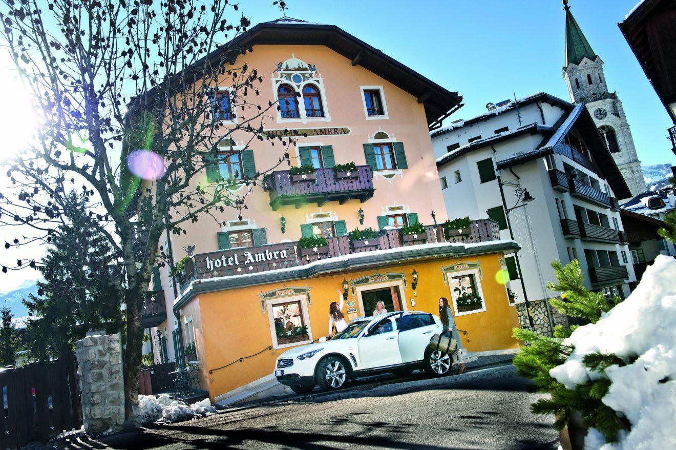 Auto con autista per arrivare a Cortina