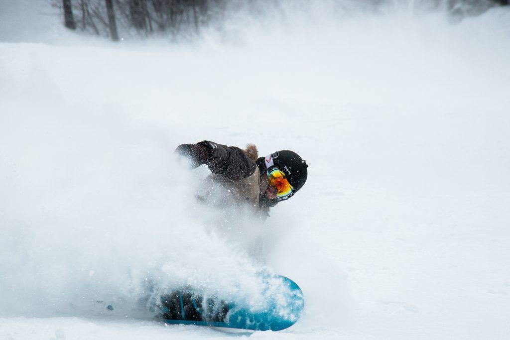 Snowboard a Cortina