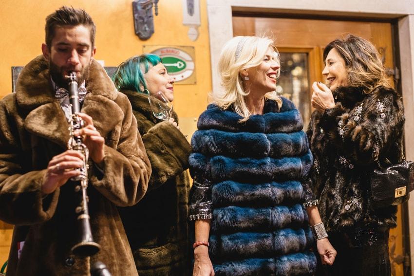 party di moda a Cortina