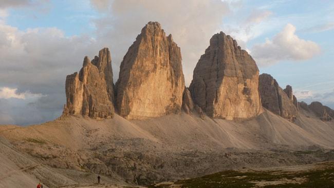 Le Tre Cime di Lavaredo fanno parte delle Dolomiti