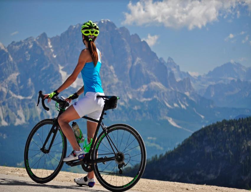 Bicicletta elettrica a Cortina d'Ampezzo