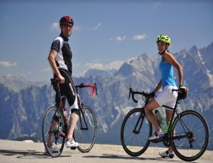percorsi bici e mtb da Cortina nelle Dolomiti