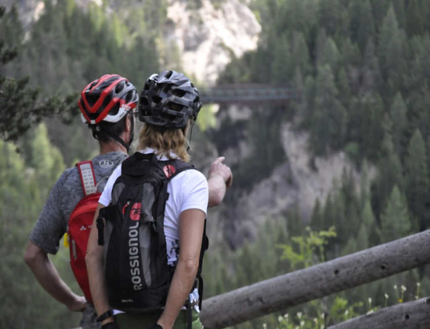 bike tours in the Alps