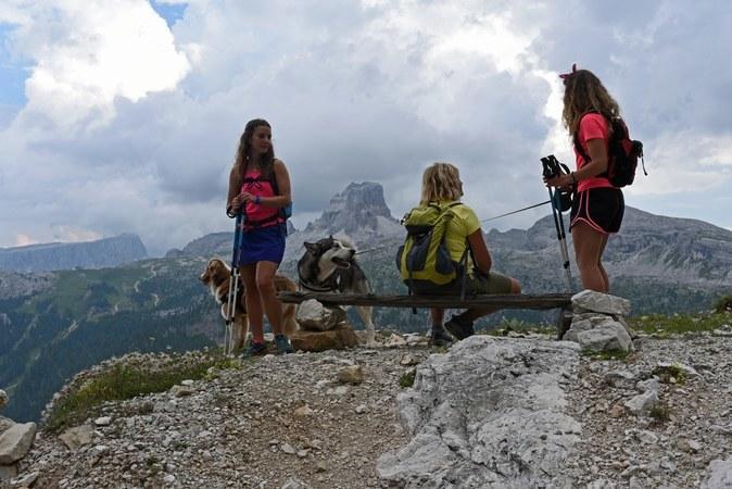 In vacanza con i cani a Cortina