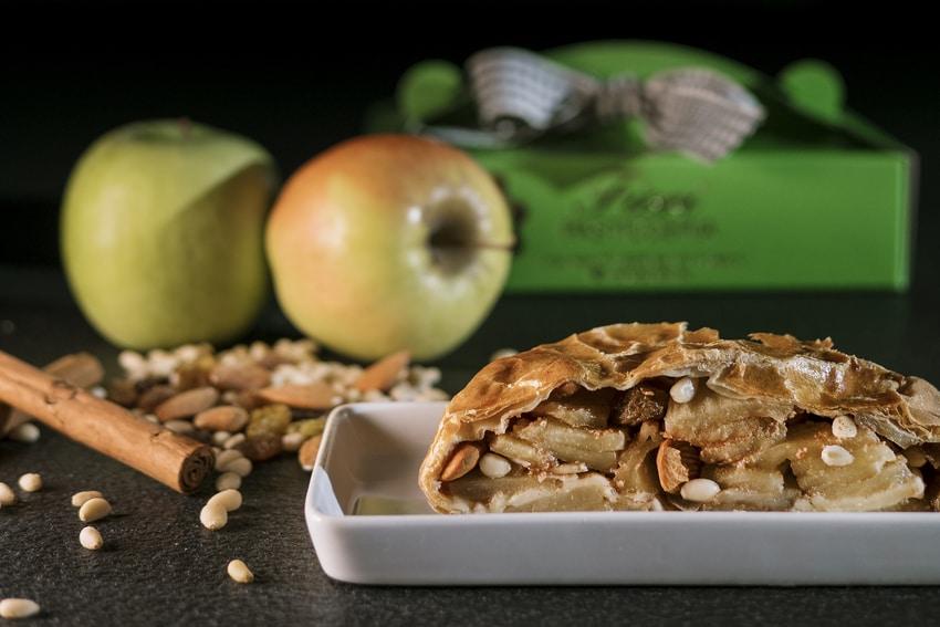 Uno dei dolci tipici di Cortina è lo strudel di mele